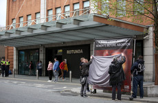 Graphic abortion posters displayed outside Rotunda again despite requests from hospital not to