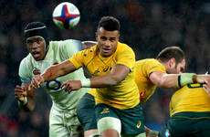 Wallabies could be without Will Genia against Ireland next month