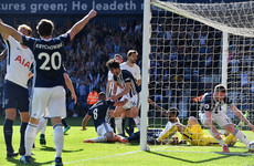 Baggies keep great escape dream alive with late winner against Spurs