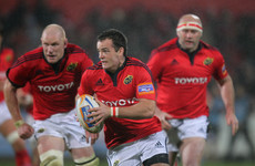 'I have very fond memories of my time at Munster but I've no regrets'