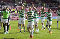 Celtic come from behind to hand Hearts first home loss of the season