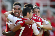 Fitting end to Arsene Wenger's last home game as Arsenal crush Burnley