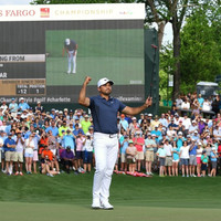 Day's strong finish seals triumphant Wells Fargo Championship win