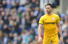 Ireland international named Preston's Player of the Season amid hat-trick of awards