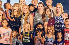 Taylor Swift invited 2,000 adoptive and foster children to a dress rehearsal for her upcoming tour
