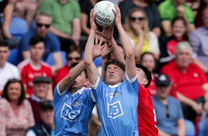 Dublin hit 3-6 without reply in final quarter to defeat Louth in Leinster minor opener
