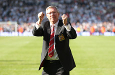Sir Alex Ferguson sitting up and talking to family - reports