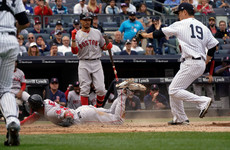 Rivals Red Sox and Yankees to meet in London double-header next year