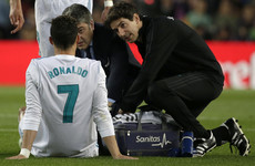 'Ronaldo, in terms of his injury, is incredible'