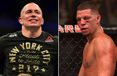 Lightweight bout between GSP and Nate Diaz in the works for UFC 227