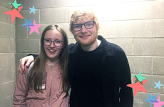 The Ray D'arcy Show organised for Vicky Phelan's daughter to meet Ed Sheeran because they're sound