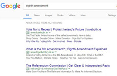 Google and YouTube to suspend all ads on Eighth Amendment referendum