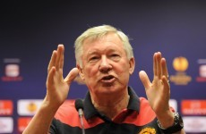 Luck evens out over the course of a season, insists Fergie