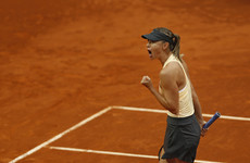 Sharapova blasts critic Mladenovic off court in Madrid