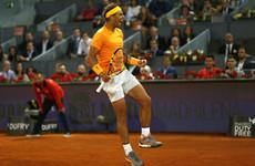 Nadal breaks McEnroe's 34-year record in Madrid but Del Potro, Sharapova and Halep beaten