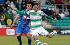 Ireland's latest call-up Burke earns Shamrock Rovers draw with high-flying Waterford