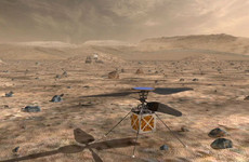 Nasa is sending a helicopter that weighs less than 2kg to Mars