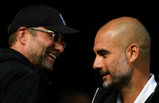 Guardiola anticipates Liverpool Premier League title challenge