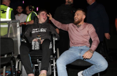 Conor McGregor coincidentally met a big fan of his after he shouted him out on the Late Late