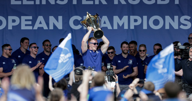 'It's not about the fifth star but chasing up to number ten': Leinster celebrate in style