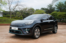 Kia has revealed the first images of the all-electric Niro