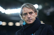 Italy name former City boss Mancini as new head coach