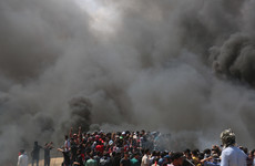 Palestinian baby dies from tear gas inhalation at Gaza protest