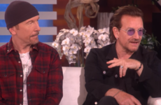 Bono told Ellen he had 'no reason to exist' until he met the rest of the lads from U2
