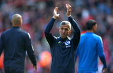 Ireland's Chris Hughton earns three-year deal after keeping Brighton in the Premier League