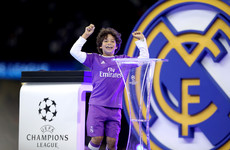 Sign him up! Marcelo's 8-year-old son dazzles Madrid dressing room in header challenge