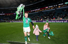 Top class Keith Earls voted Players' Player of the Year after Grand Slam season