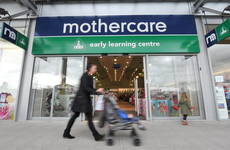 Mothercare says no Irish stores affected after 50 UK stores to close