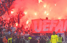 Atletico Madrid charged by Uefa for displaying 'racist' banner during Europa League final