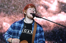 Aiken blames problems at Ed Sheeran gig on people who arrived late