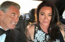 Just 10 times Pierce Brosnan and Keely Shaye Smith were cute AF