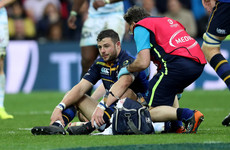 Robbie Henshaw out for 'a few weeks' but should to be fit for Ireland tour