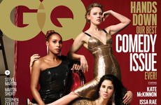 GQ have slagged off Vanity Fair with a very photoshopped cover for their comedy issue