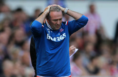 Another one bites the dust as Lambert leaves relegated Stoke