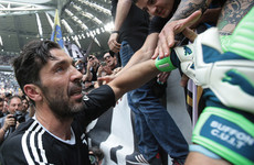 Tears aplenty as Buffon says farewell in final Juventus appearance after 17 seasons