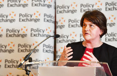 Arlene Foster talks about her dad being shot by the IRA and 'no logic' in a hard border