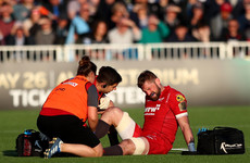 Scarlets captain Barclay suffers serious ankle injury ahead of Pro14 final
