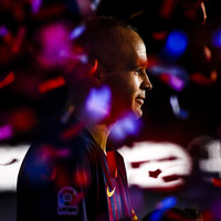 Barcelona legend Andres Iniesta appears to confirm next destination