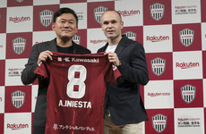 Barcelona and Spain legend Iniesta signs for Japan's Vissel Kobe