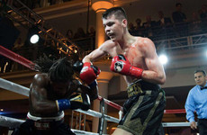 Monaghan's McKenna picks up third straight stoppage as Sugar Ray Leonard watches on in Santa Monica