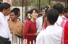 Suu Kyi poised for by-election success in Burma