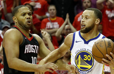 Rockets push Warriors to brink of elimination