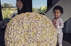 Why are celebs so obsessed with massive, ugly floral bouquets?