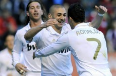 WATCH: Karim Benzema scores glorious volley against Osasuna