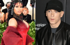 Nicki Minaj just told a fan on Instagram that she's dating Eminem