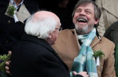 Mark Hamill tweeted about Ireland's '26 counties', and now his mentions are in shite